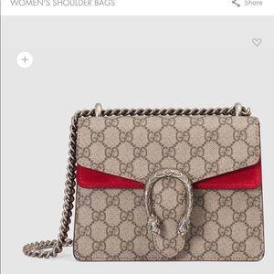 Authentic Gucci Dionysus Mini Bag